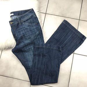 CAbi Jeans like new 881R Dark Wash Flare Size 10